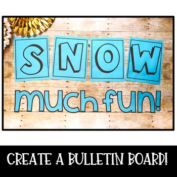 Build a Snowman! A Build a Snowman Craft and Writing Activity