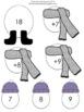 Build a Snowman - Addition Facts - Doubles (1-9)