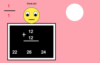 Build-a-Snowman App First Grade Math Addition and Subtraction