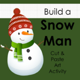 Build a Snowman Art Activity