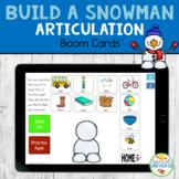 Build a Snowman Articulation BOOM Cards