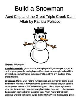 Build a Snowman Aunt Chip and the Great Triple Creek Dam Affair