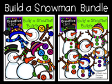 Build a Snowman Clipart Bundle {Creative Clips Clipart}