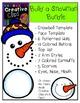 Build a Snowman Clipart Bundle {Creative Clips Clipart}