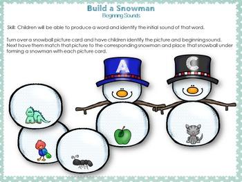 Build a Snowman Bundle Set
