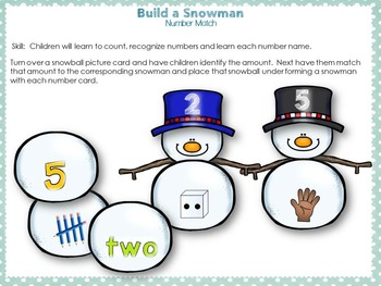 Build a Snowman Bundle Set