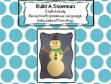 Build a Snowman Craft Activity