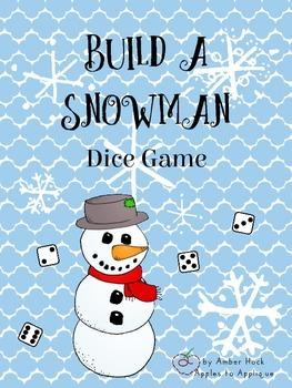 Build a Snowman Dice Game
