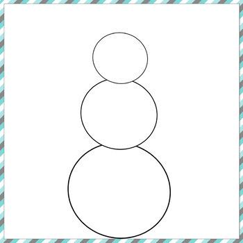 Build a Snowman Digital Activity
