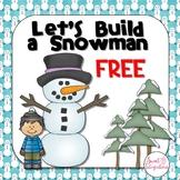 Build a Snowman Snowman Editable PowerPoint Review Game Template