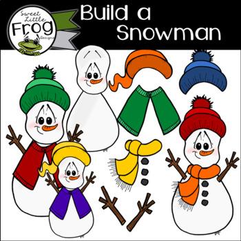 Build a Snowman FREEBIE