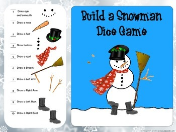 Build a Snowman Fact Game