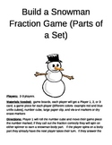 Build a Snowman Fractions (Parts of a Set)