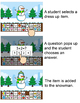 Winter Math Build a Snowman Addition and Subtraction Game - SmartBoard