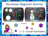 Build a Snowman Magnet Activity