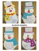 Build a Snowman Topic, Main Idea, and Key Details Craftivity