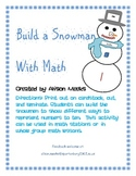 Build a Snowman: Matching Numerals to Different Representations