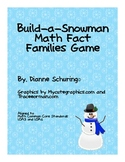 Build-a-Snowman Math Fact Families Game