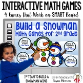 Build a Snowman Interactive Math Games