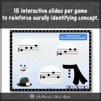 Build a Snowman - Interactive Melody Games (Bundle)