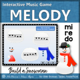 Winter Music Game: Do Re Mi Interactive Melody Game {Build a Snowman}