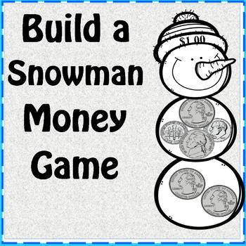 Build a Snowman Money Game