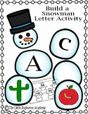 Build a Snowman- Phonics and Letter Recognition