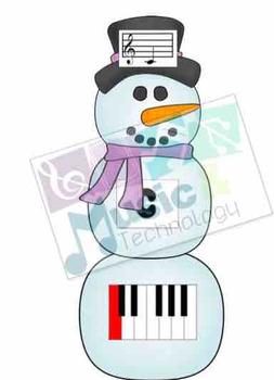 Build a Snowman Piano Keys Review