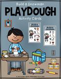 Build a Snowman Playdough Activity Cards