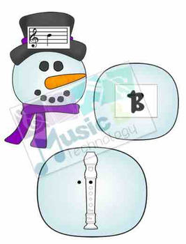 Build a Snowman Recorder Fingering Review