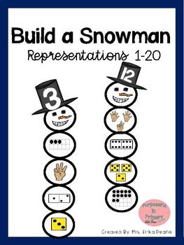 Build a Snowman Representations 1-20