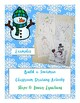 Build a Snowman  - Review of Slope & Writing Linear Equations -2 versions