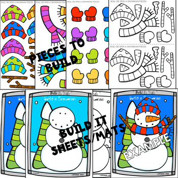 Build a Snowman (Roll and Spin Notes and Rests Edition)