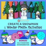 Build a Snowman + Snowman Math - Beginning Fractions