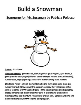 Build a Snowman Someone for Mr. Sussman by Patricia Polacco