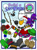 Build a Snowman Clipart *Bargain Priced* (Embellish Yourse