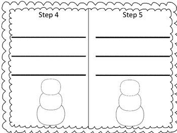 Snowman Writing Pack