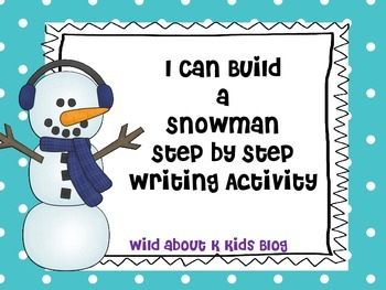 Snowman Writing Pack