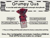 """Grumpy Gus""- Build a Snowman Storybook {A social and skil"