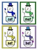 Build a Snowman Short Vowel Word Reading Game - CVC Short 'a'