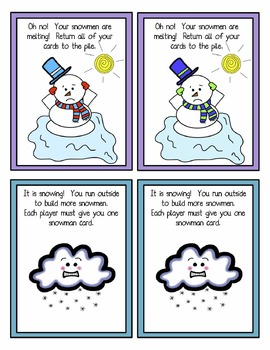 Build a Snowman Word Reading Game - Silent 'e'