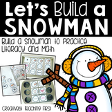 Build a Snowman to Build Literacy and Math Skills