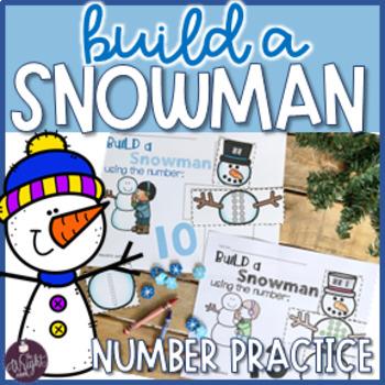 Winter Math Number Practice