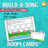 """Build-a-Song Rhythm Edition """"Rain, Rain Go Away"""" Distance"""