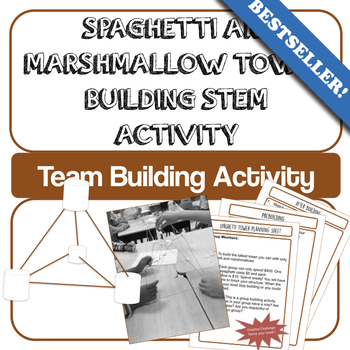 Build a Spaghetti and Marshmallow Tower (STEM) End of Year Activity