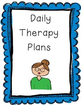 Build a Speech Teacher Plan Book