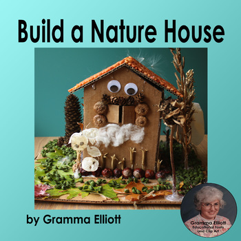 Nature Craft - Create a House - Pattern and ideas - Free