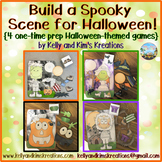Build a Spooky Scene for Halloween! {4 one-time prep Hallo