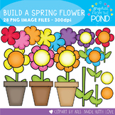 Build a Spring Flower Clipart