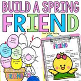 Build a Spring Friend activity for Google Classroom Distan